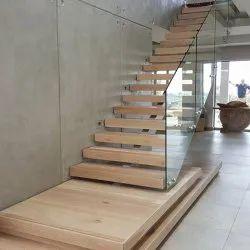 Stairs Bar Frameless Glass Staircase Handrail