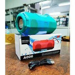 A006 High Power Sound Super Bass & Wireless Bluetooth Speaker With Dancing Light Feature
