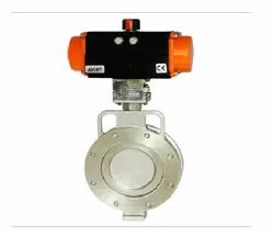 Off-Set Disc Butterfly Valve-Spherical Disc Valve Working Temperature