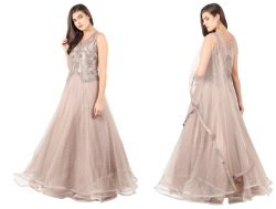 Party Wear Women Designer Handwork Gown