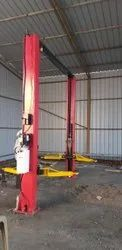 Mild Steel Anand Two Post Lift, For Servicing, 2-4 Tons