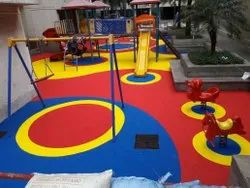 EPDM Kids Playground Flooring