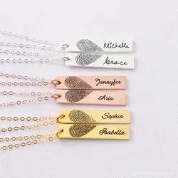 Set of 2: Fingerprint Necklaces