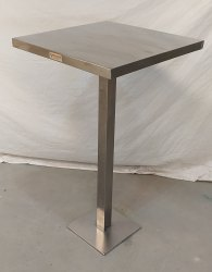SS 304 Stainless Steel Fastfood Standy Table (heavy), For Use For Fast Food Zone, Size: L24xw24xh43