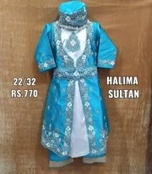 Embroidered Halima Sultan Dress