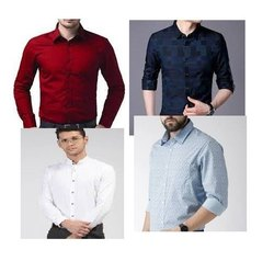 Cotton Party Wear Shirts