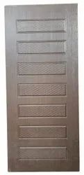 Hinged Matte Decorative PVC Door, For Home