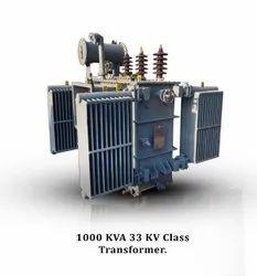 3-Phase 1000kVA Oil Cooled Distribution Transformer