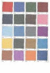 Polyester Multicolor School Uniform Checks Fabric, For Uniforms, 120-140 GSM