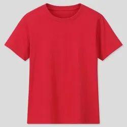 Round Half Sleeve Mens T Shirts, Size: Medium