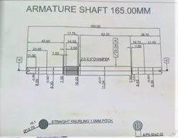 Mixi Armature Shaft