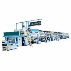 Double Wall - 5 Ply Combined Automatic Paper Corrugated Board Making Plant