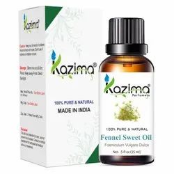 KAZIMA Fennel Seed Oil - 100% Pure, Natural & Undiluted Oil