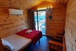 Wooden Kalyan Pine Wood Tree House