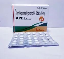 Cyproheptadine Hydrochloride Tablets Ip 4 Mg