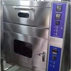 Stainless Steel Double Deck Oven