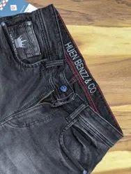 Men???s Black Regular Fit Denim Jeans