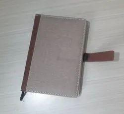 Jute Diary Notebook