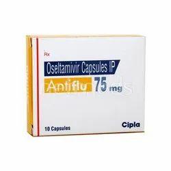 Oseltamivir Phosphate (75mg) 75 Mg Anti Flu Tablets, 1*10