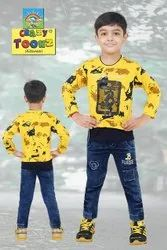 Kids Full Sleeve T Shirt And Pant