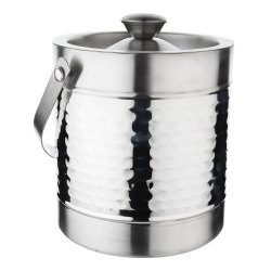 Stainless Steel Double- Wall Insulated Ice Bucket With Lid ( Mathar)