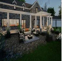 Farmhouse Landscape Designing Services