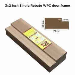 3 X 2 Inch Single Rebated WPC Door Frame