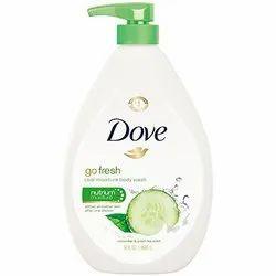 Dove Go Fresh Cool Moisture Cucumber Body Wash 1 Ltr, Skin Type: Normal Skin, Size: Big
