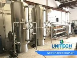 Ro Separation Technology SS Mineral Water Plant