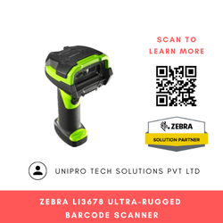 Zebra LI3678-ER Ultra-Rugged Barcode Scanner