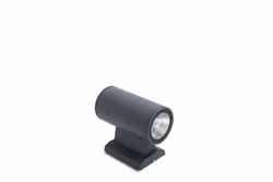 Warm White ABS Powl 66 Wall Mounted LED Light, For Home, 2 X 6w