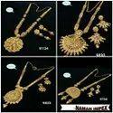 Long Bijoux Haar Necklace  And Earing Jewellery Set For Women And Girl Bijoux- 5