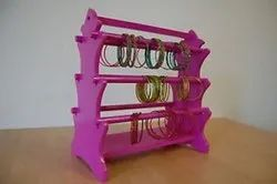 DNU wooden Pink Bangle Stand