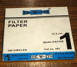 Filter Paper 12.5 Cm Circle