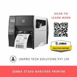 Zebra Zt200 Barcode Printer