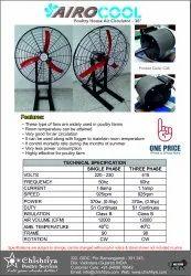 Poultry House Air Circulator Fan