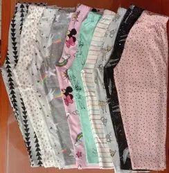 Multicolor Casual Wear Kids Bottoms Pant