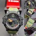 Round Casio G Shock Mudmaster Burton Edition Watch, For Personal Use