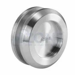 Glass Ozone SL-HN-50 Steel Sliding Door Handle (Silver) for Office, Interior
