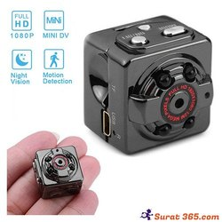 SQ 8 Mini Camera 1080P Night Vision, Camera Range: 15 to 20 m