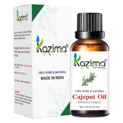 KAZIMA 100% Pure Natural & Undiluted Cajeput Oil