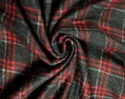 Cashmilon Stripes pattern Woolen Fabric
