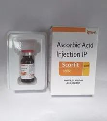 Scorfit Ascorbic Acid (Vitamin C) Injections I.P