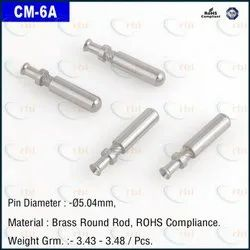 6 Amp Solid Pin Crimping Type