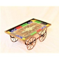 Multicolor Iron Decorative Cart, For Decoration