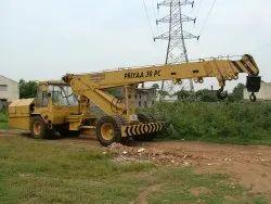 Priyaa 4 Part Boom Pick And Carry Crane