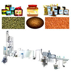 Extrusion Feed Processing Line