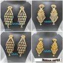 LCD Long Earring Jewellery Set For Women And Girl Bijoux 3