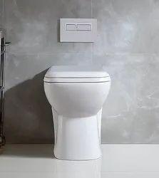 Regular White Toilet