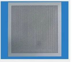 Powder Coated Perforated Ceiling Diffuser, For Commercial, Shape: Square